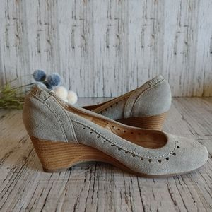 JOSEF SEIBEL | Peep Toe Wedge Heel Shoes Size 36